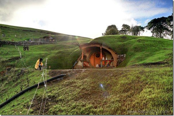 escenario de El Hobbit