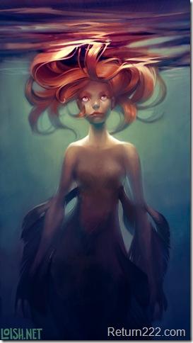 mermaid_by_loish