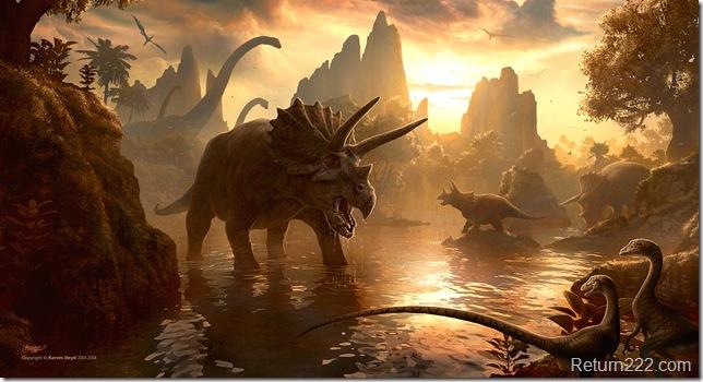 Cretaceous_Sunset_by_kerembeyit