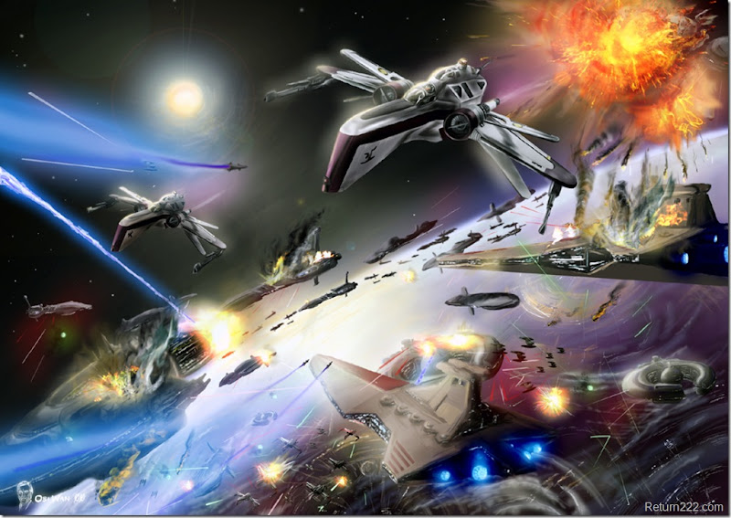 Battle_over_Coruscant_by_Obiwan00