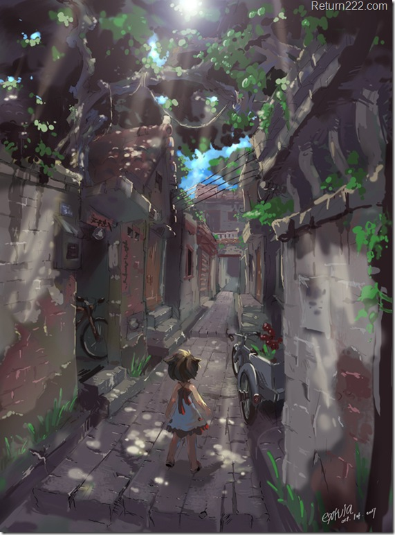 Street_in_Memory_by_extvia