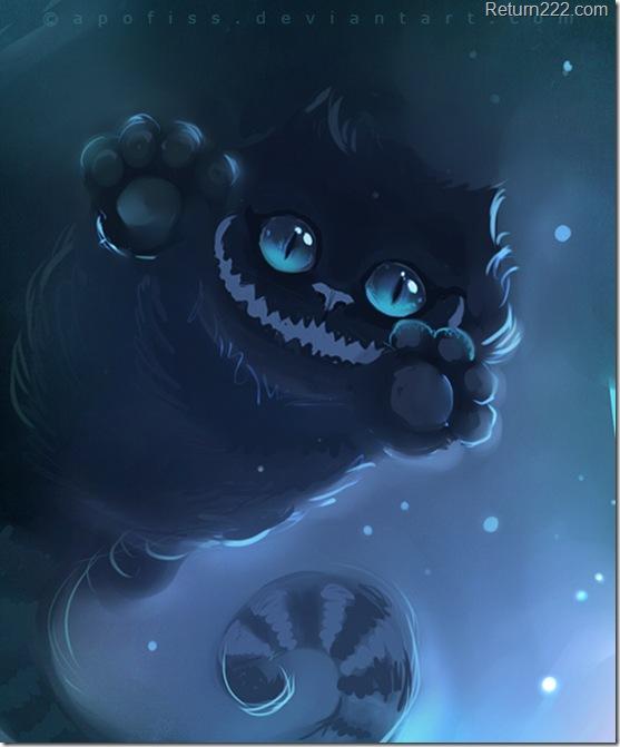 El gato negro de la ilustraci n taringa - El gato negro decoracion ...