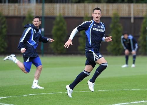john terry training at chelsea