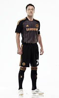 John terry wearing new chelsea away kit