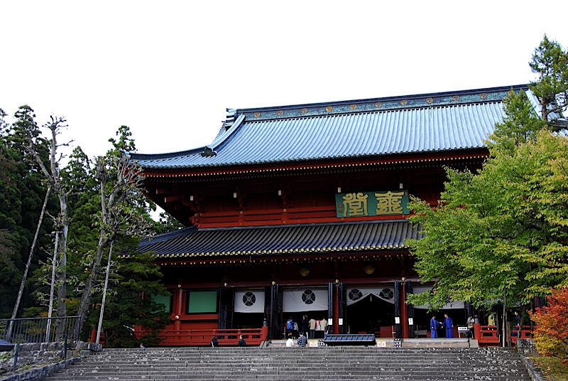 Sanbutsudo of the Rinnoji Temple area of Nikko Japan