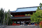 Sanbutsudo of the Rinnoji Temple area of Nikko Japan