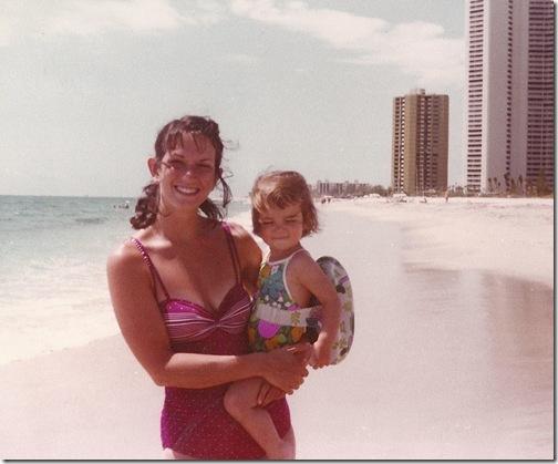 Me Mom Singer Island 1980