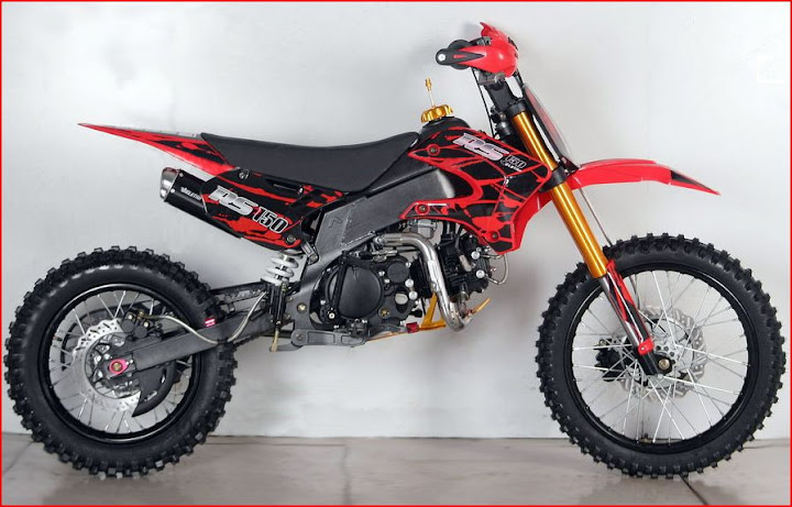 150cc RS Pit Bike Red Bigwheel Orion AGB ProX