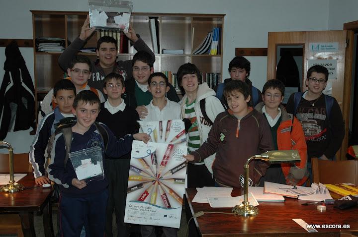 Actividades de solidaridad en Escora - Olimpiada solidaria de estudio