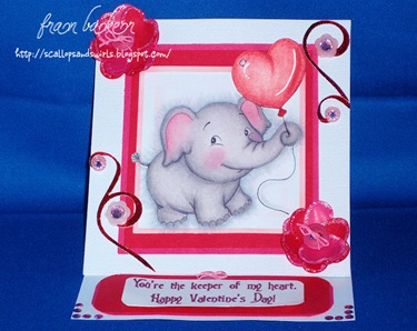 Elephant Card-Front View