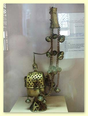 An old Censer in Coptic Museum