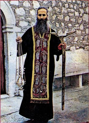 An Orthodox Elder with Censer