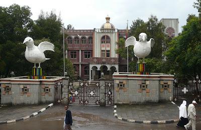 The Ethiopian Patriarchal Residence