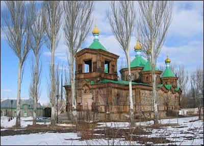 Orthodox Church in Krygisthan
