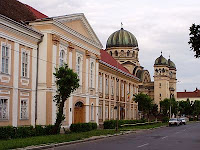 The large Orthodox Church of the Archangels Gabriel & Michael, Romania