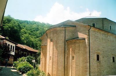 Saint Bogorodica Prečista Monastery - Macedonia