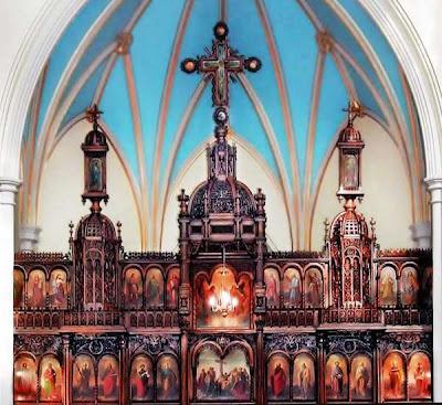 Romanian Orthodox Church Altar