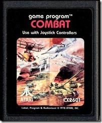 Capa de Combat para Atari 2600