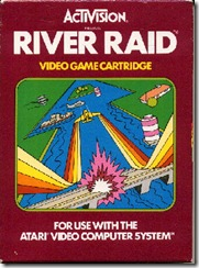 Capa de River Raid para Atari 2600