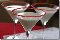 aspirations of a southern housewife peppermint martinis
