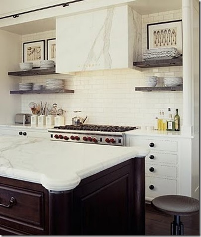 erin martin white kitchen with marble hood