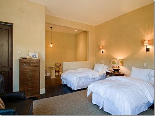 Heraldsburg Palladian villa bedroom