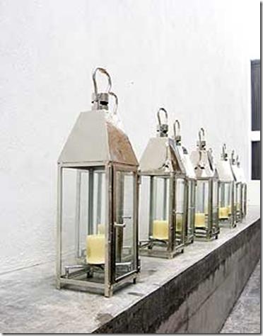 silver- casamidy lantern