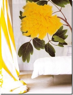 delight by design yellow wall paper
