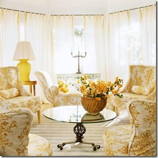 eloquent essence yellow living room