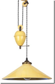 bistro lamp in various colors by french country canada
