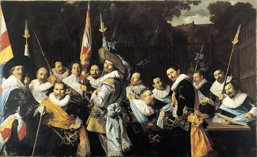 FRANS HALS, Archers of Saint Hadrian, 1633