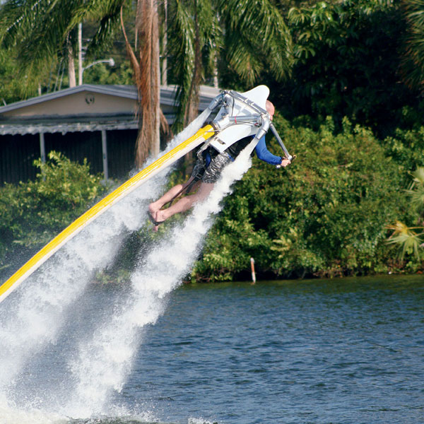 Water Powered Jet Pack