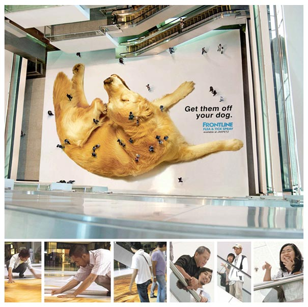 33 Cool And Creative Ambient Ads Bored Panda