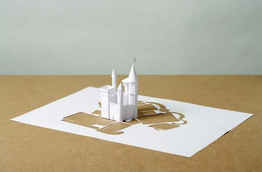 Поделки для белой бумаги
