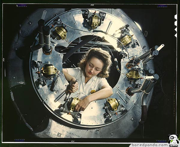 women at work in the 1940 s