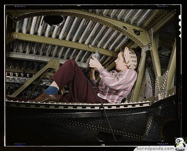 Women At Work In The 1940′s