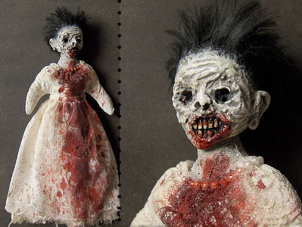 Creepy Dolls by Shain Erin