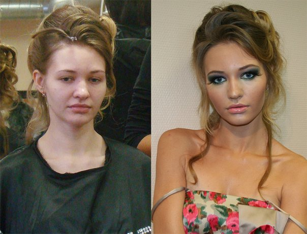 Amazing Before And After Makeup Photos Bored Panda - Before and after makeup photos