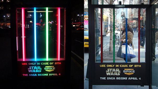 33 Cool and Creative Bus Stop Advertisements