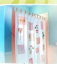 Como hacer una cortina para el baño cortina de bano para niñas