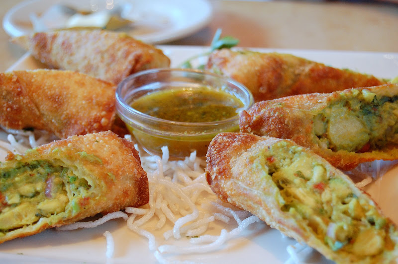 My favorite appetizer - avocado rolls!