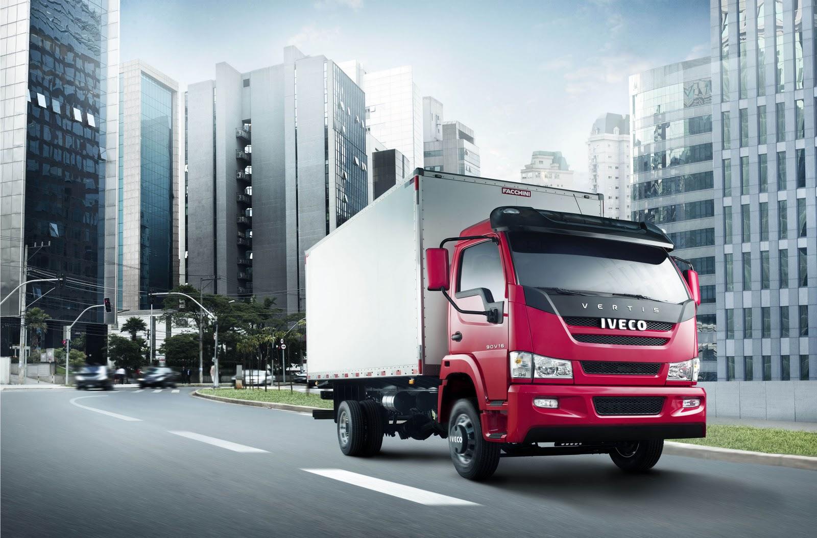 Carboni Iveco é a primeira a apresentar ao público o caminhão médio Vertis 30 ivecovertis 004 01 e