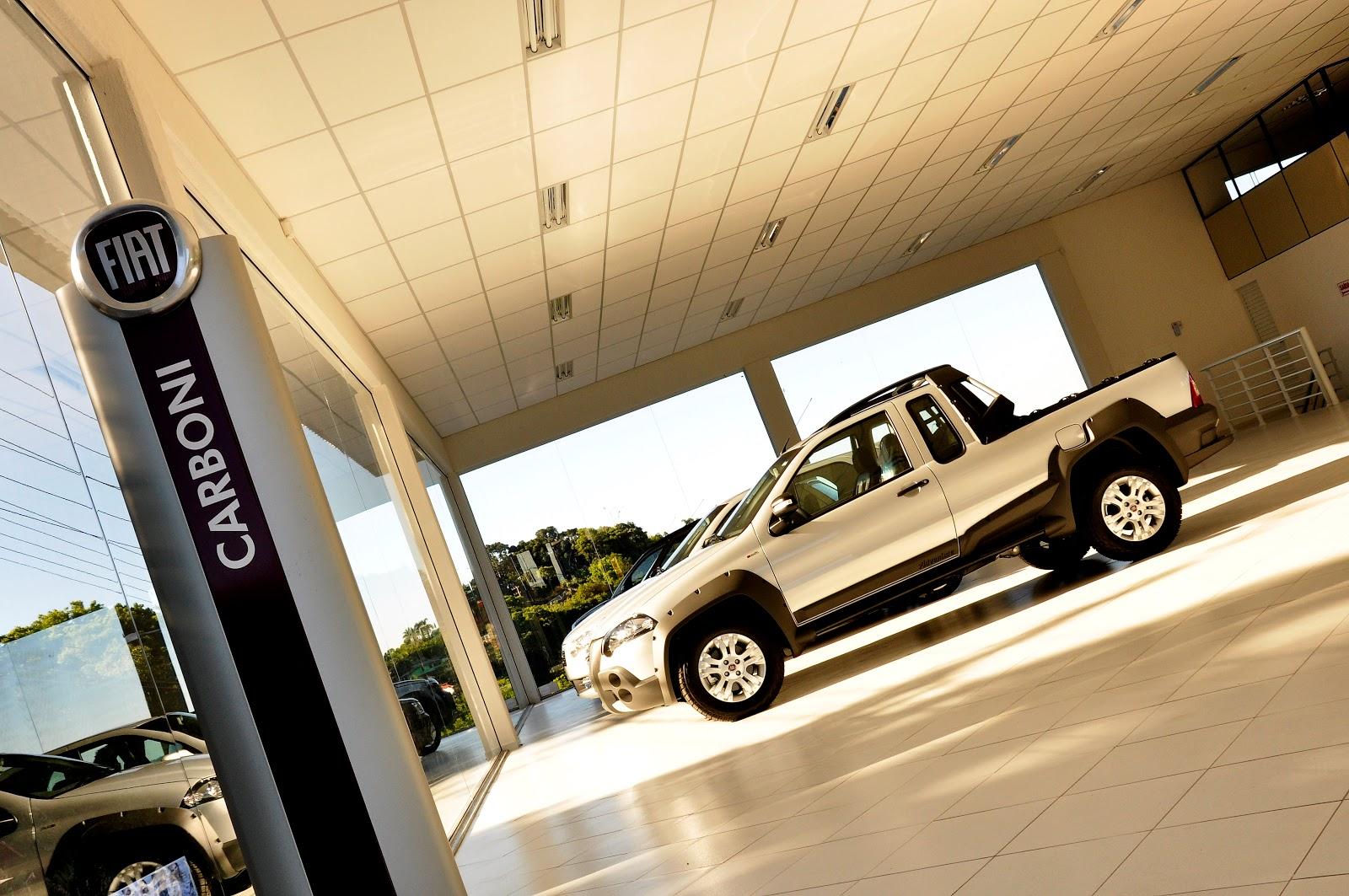 CARBONI FIAT - Inaugura hoje concessionária completa em Capinzal DSC0136 1