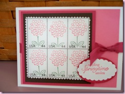 Dee's Flower Stamps