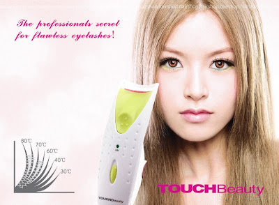 Heated Eyelash Curlier Touch Beauty