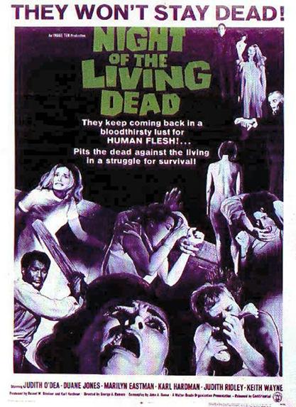 noite dos mortos vivos capa