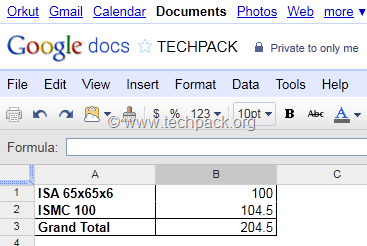 pivot table report summary google docs