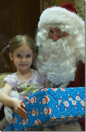 Rebecca&Santa