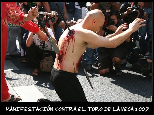 Manifestaciones contra el Toro de la Vega 2009 IMG_2388