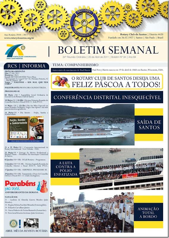 BOLETIM ROTARY 20.04.11 CAPA